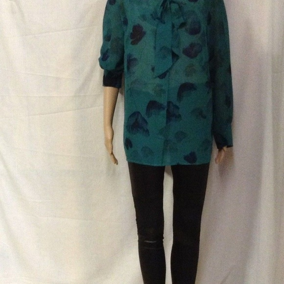 5a377dc278c Ava   Viv Plus Size 14 W Long Sleeve Bow Blouse
